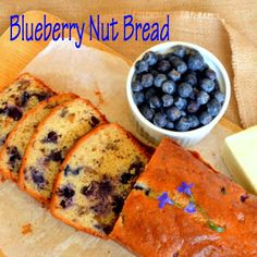 This IS how I cook.: Feeling A Bit Blue Today or Blueberry Nut Bread