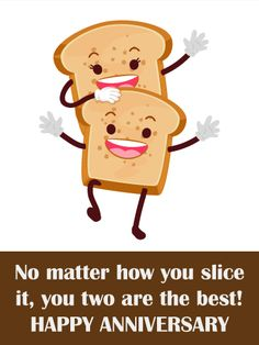 13 best funny anniversary cards images on pinterest happy birthday send free to the best toast couple funny anniversary couple to loved ones on birthday greeting cards by davia its free and you also can use your own m4hsunfo