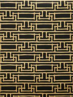 Yvan's Geometric FBW-RF97 - Florence Broadhurst wallpaper by Signature Prints