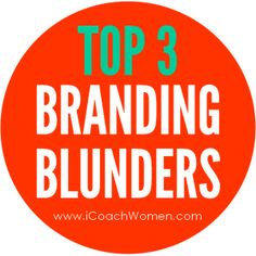 Are you making these mistakes with your brand? http://womanentrepreneursmentor.com/blog/branding-blunders-three-key-ways-youre-razing-your-brand/