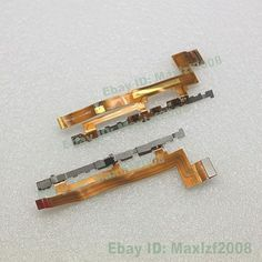 New Power On Off / Volume Flex Cable Ribbon For Sony Xperia M2 D2303 D2305 D2306
