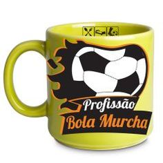 Caneca Bola Murcha 300ml  Tome seu chocolate quente quando acorda ou uma bela xícara de café para espantar a preguiça com uma caneca diferente, fabricada especialmente para quem adora peças exclusivas, com imagens criativas e temas divertidos.
