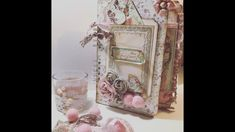 ÁLBUM DE NAVIDAD, TUTORIAL con la colección PINK CHRISTMAS de STAMPERIA Pink Christmas, Christmas Time, Album Scrapbook, Christmas Journal, Craft Tutorials, Craft Ideas, Junk Journal, Decoupage, Decorative Boxes
