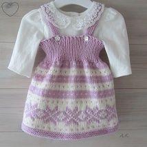 Grå babykjole - Epla Baby Barn, Knit Crochet, Knitting, Women, Fashion, Pink, Tricot, Moda, Fashion Styles