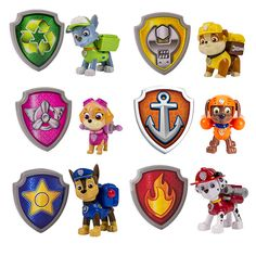 photo about Paw Patrol Badges Printable named 12 Most straightforward Paw patrol badge pictures Paw patrol celebration, Paw
