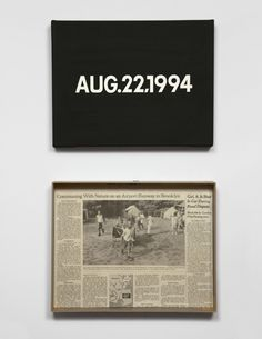 On Kawara  www.artexperiencenyc.com