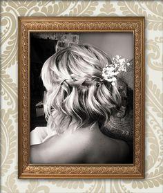 Wedding hair by Chelsea. Contact the salon for a wedding hair consultation O.Constantinou & Sons, Cardiff 02920461191 #weddinghair #bridalhair #weddinghairstyles #weddingideas #autumnwedding