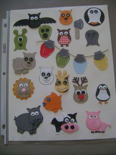 Stampin' Up!  Owl Punch  Elizabeth Ruegemer  Ideas