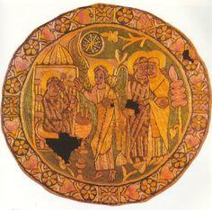 Coptic Roundal, 8th Century