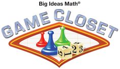 Big Ideas MATH: A Common Core Curriculum for Middle School and High School Mathematics Written by Ron Larson and Laurie Boswell. Teacher Games, Math Teacher, Teaching Math, Teacher Stuff, Teaching Ideas, Big Ideas Learning, Big Ideas Math, Printable Math Games, High School Games
