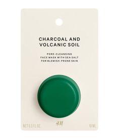 Ansigtsmaske til problemhud | Charcoal And Volcanic Soil | Dame | H&M DK