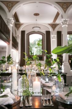 Venue: Vibiana Planner: Kristin Banta Events Photographer: Miki & Sonja Floral Design: Krista Jon Floral Ceremony rentals: Archive rentals rentals: Town and County Lighting: The Lighter Side Hai & Makeup: Glam Squad Entertainment: Elan Artists