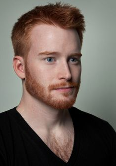 Man with Natural Red Hair = Ginger