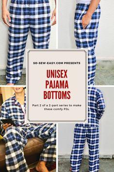 unisex pajama bottom