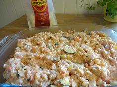 Pasta Salad, Bacon, Food And Drink, Ethnic Recipes, Blogging, Crab Pasta Salad, Pork Belly