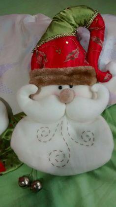 Fabric Crafts, Diy Crafts, Xmas, Christmas Ornaments, Santa, Sewing, Holiday Decor, Christmas Angels, Snowman