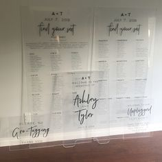62 Best Acrylic and glass lettering images in 2019 | Bridal
