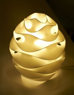 Nebula Lampshade by Riccardo Bovo, via Behance