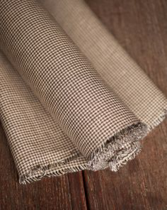 Browns Puppy Tooth Linen | Merchant & Mills
