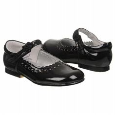 Jumping Jacks Annabelle Tod/Pre Shoes (Black) - Kids' Shoes - 10.5 M