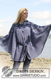 Here's hoping that when I take the time to knit a cape, I don't look like I'm in my bathrobe.