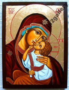 Ikona Matka Boża Umilenie ŚLUB CHRZEST DEDYKACJA