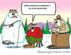 Zašto dozvola za ribolov? #zaštodozvolazaribolov #ribolovnadozvola #dozvola #ribolov #ribičija #pecanje #ribočuvar #ribočuvarskaslužba #ribolovnisavez #ribolovnisavezhrvatske #snjegović #zima #humor #šale #vicevi #smiješneslike Smiješne slike i vicevi na humorpicture.com - http://humorpicture.com/zasto-dozvola-za-ribolov-zastodozvolazaribolov-ribolovnadozvola-dozvola-ribolov-ribicija-pecanje-ribocuvar-ribocuvarskasluzba-ribolovnisavez-ribolovnisavezhrvatske-snjegovi