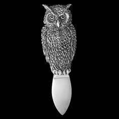 owl parmesan knife