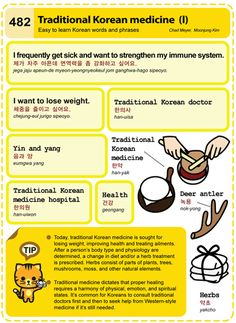 Traditional Korean medicine Chad Meyer and Moon-Jung Kim EasytoLearnKorean.com An Illustrated Guide to Korean