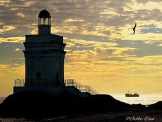 St. Helena Bay lighthouse, South Africa Beacon Of Hope, Beacon Of Light, Light In The Dark, Lighthouse Lighting, St Helena, Amazing Sunsets, Guardian Angels, Water Tower, Light House