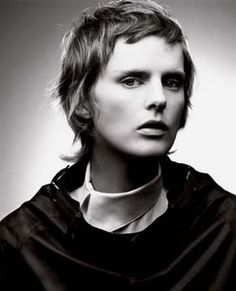 Would you have hair as short as Stella Tennant for a photo shoot?