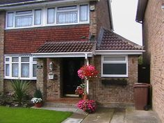 extension semi detached house - Google Search Garage Extension, Side Extension, Extension Ideas, Semi Detached, Detached House, Devol Kitchens, Villa, House Extensions, Home Improvement