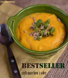 Zupa krem z selera i marchwi
