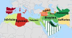 Desintegración del Califato abasí en el siglo XI. - Wikipedia,