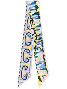 Emilio Pucci Sirens Song-print Scarf - Farfetch Emilio Pucci, Sirens, Accessories Shop, Women Wear, Dorm Room, Scarves, Lyrics, Presents, Vogue