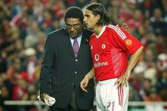 Eusébio e Nuno Gomes