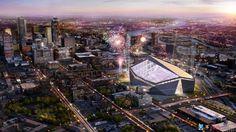 New Vikings Stadium . . . 2016!