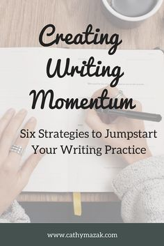 Wondering how to get momentum in your writing practice? Momentum infuses writing with energy and helps your writing practice take on a life of its own. Discover 6 actionable strategies to jump start your writing today! Improve Writing Skills, Writing Advice, Writing Practice, Writing Prompts, Report Writing, Academic Writing, Essay Tips, Writing Activities, Higher Education