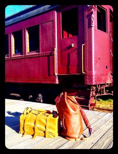 Saddleback leather waterbag and the Whipping post military leather duffel