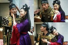"""God of War(Hangul:무신;RR:Musin; lit. """"Soldier"""") is a 2012 South Koreantelevision seriesstarringKim Joo-hyukas the real-life historical figure Kim Jun who was written about in theGoryeosa.It aired onMBC. Kim Jun is the son of an escapedpalace slave, he rises in the ranks to become the top military official, and eventually rules theGoryeoempire."""
