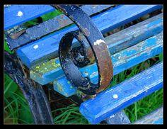 Old Rusty Park Bench by brian_bru, via Flickr