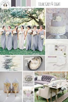 Lilac Grey and Light – Elegant Wedding Inspiration in a Chic Grey and Pastel Palette