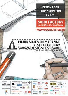 Picnic MaleMEN Magazine x Soho Factory. EXAMPLE.PL
