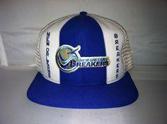 Vintage New Orleans Breakers SnapBack.