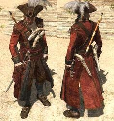 Captain Morgan in Assassins Creed Black Flag, Assassins Creed Game, Arno Victor Dorian, Edwards Kenway, Pirate Art, Hunter Outfit, Templer, Captain Morgan, Jackdaw