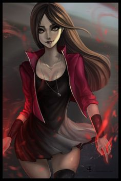 The Scarlet by JELLYEMILY.deviantart.com on @DeviantArt - More at https://pinterest.com/supergirlsart/ #scarlet #witch #scarletwitch #avengers #marvel #comics #fanart