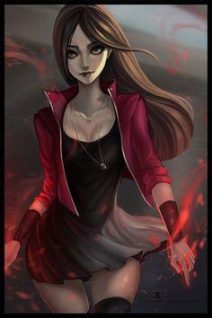 The Scarlet by JELLYEMILY.deviantart.com on @DeviantArt - More at…