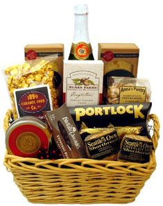 Elegant Snack Gift Basket -- More info could be found at the image url.