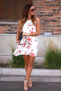 Pretty dress. (Make longer and wear with blazer,jacket,or Cardigan)