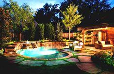 Fantastisch Schwimmbad Designs Für Kleine Hinterhöfe Trends Mit Garten #Gartendeko |  Gartendeko | Pinterest | Kleinen Hinterhöfen, Hinterhof Und Schwimmbäder